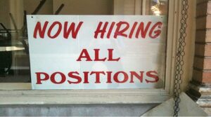 Now Hiring All Postions